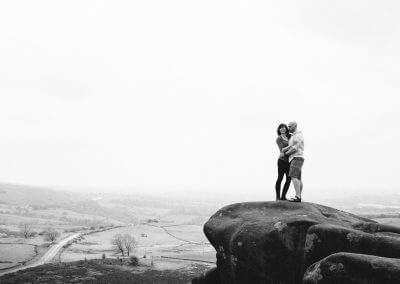 Engagement Shoot at Luds Church, Peak District, UK