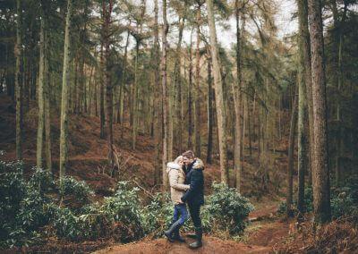 Engagement Shoot at Rushmere Park, UK