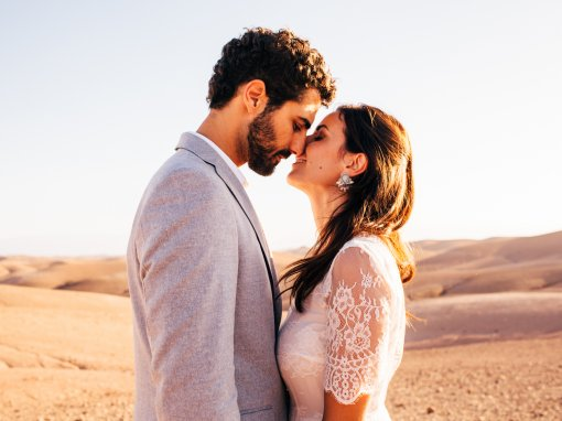 Styled Elopement, Marrakech, Morocco