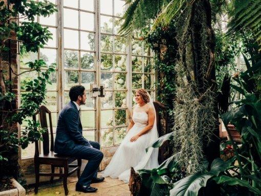 Wedding at Woburn Sculpture Gallery, UK