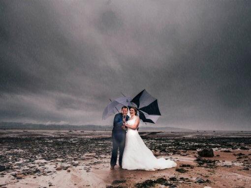 Rainy Liverpool Wedding